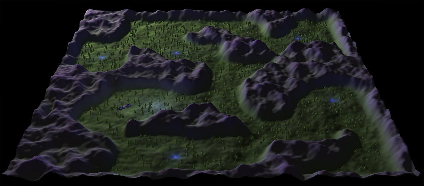 Perlin Noise Terrain