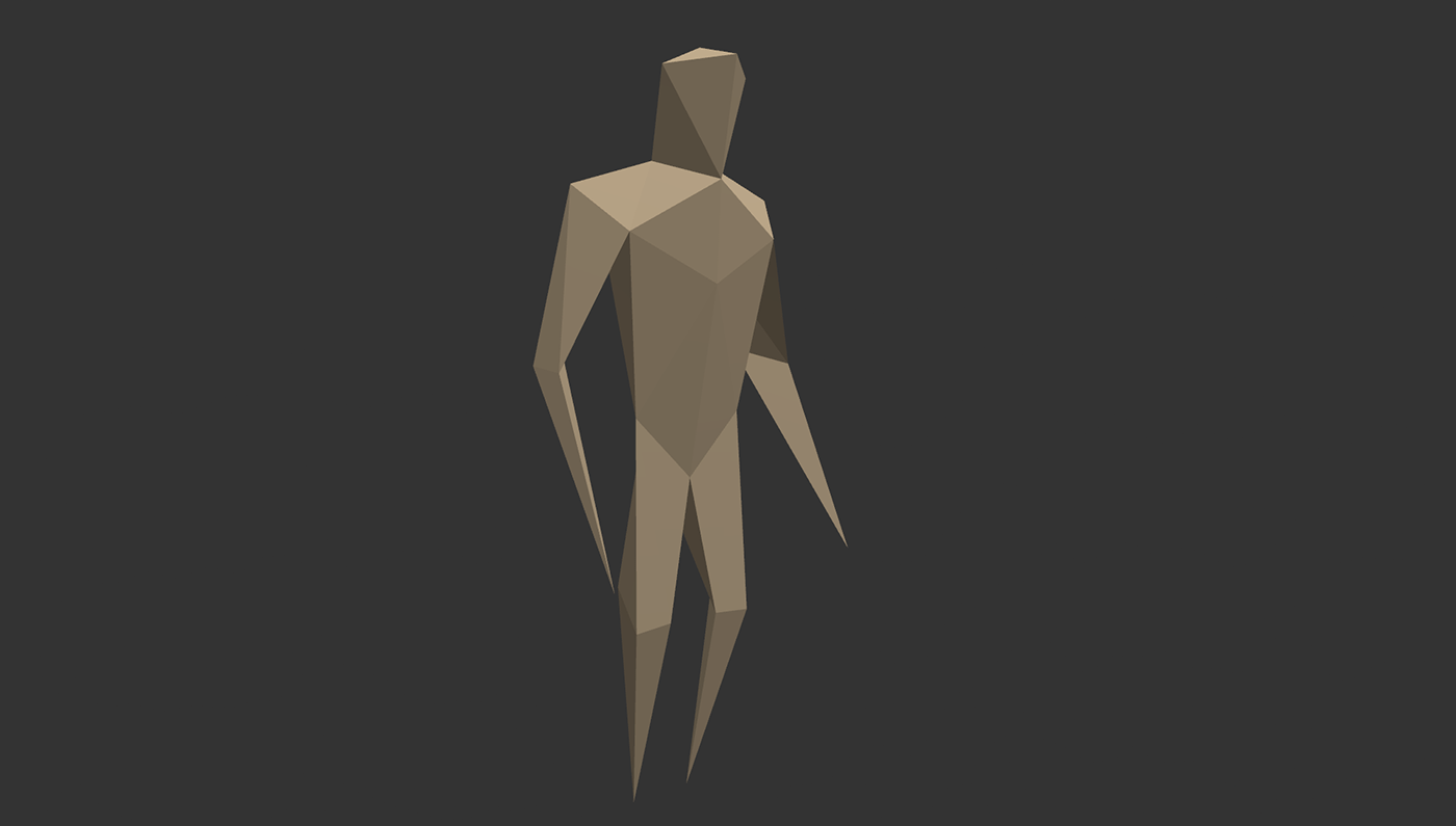 Low Poly Character Model